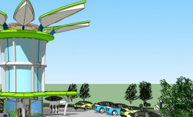 Bangchak future energy station