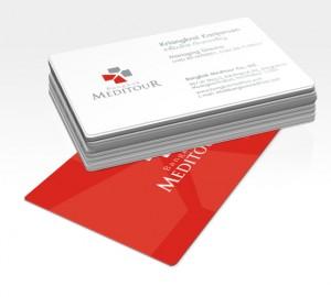 Bangkok MediTour BusinessCard design