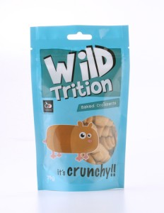 Wildtrition Packaging design (Croissants) : front